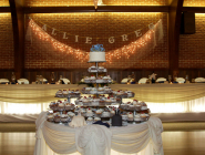 Wedding Decorations at Laube Hall in Freeport