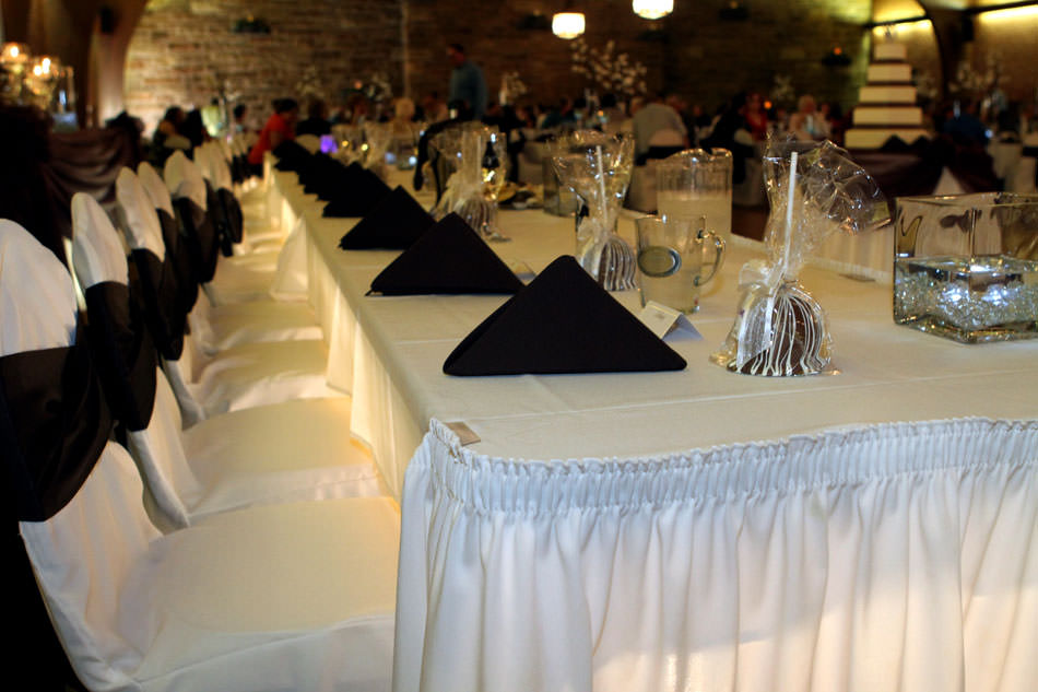 Wedding Decorations At Laube Hall In Freeport Pa